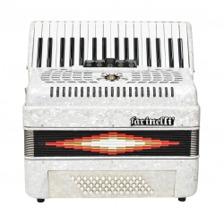 ACORDEON TECLAS BLANCO 3460 5 REGISTROS FARINELLI